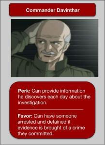 Davinthar NPC Card