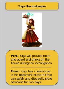 Yaya NPC Card